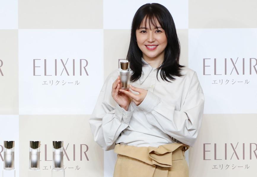 資生堂「エリクシールデザインタイム美容液」発売、CMに長澤まさみ起用